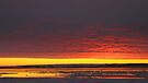 Sunset Gold at Churchill, Canada by Carole-Anne