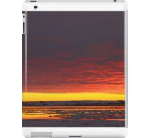 Sunset Gold at Churchill, Canada iPad Case/Skin
