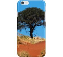 Tree in Namibia iPhone Case/Skin