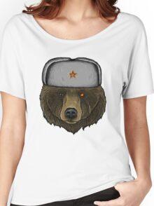 Comrade Bear Women's Relaxed Fit T-Shirt