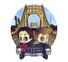 Winchesters in Pittsburgh Photographic Print