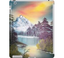 Snow landscape iPad Case/Skin