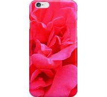 Macro on pink rose. iPhone Case/Skin