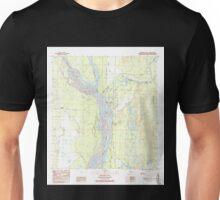 USGS TOPO Map Alaska AK Talkeetna B-1 SE 353832 1987 25000 Unisex T-Shirt