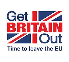 Get Out UK Photographic Print