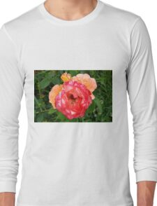 Close up on red and yellow roses. Long Sleeve T-Shirt
