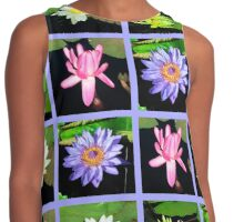WONDERFUL WATER LILY PHOTO DESIGN Contrast Tank