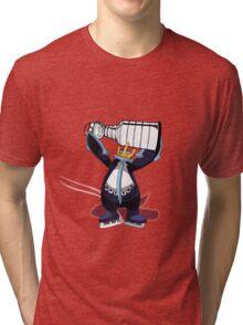 Empoleon Lifting The Cup Tri-blend T-Shirt