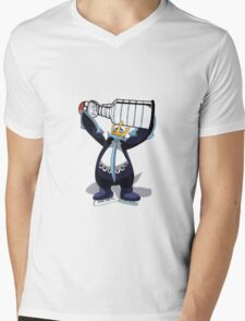 Empoleon Lifting The Cup Mens V-Neck T-Shirt