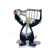 Empoleon Lifting The Cup Photographic Print