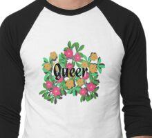QUEER Men's Baseball ¾ T-Shirt