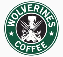 Wolverines Coffee Kids Clothes