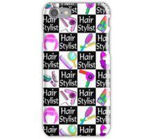 DAZZLING HAIR STYLIST iPhone Case/Skin