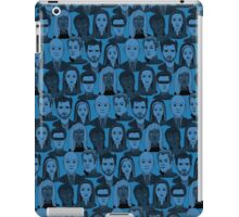 X Men Characters - Blue iPad Case/Skin