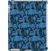 X Men Characters - Blue iPad Case/Skin