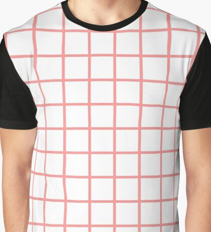 red graph Graphic T-Shirt
