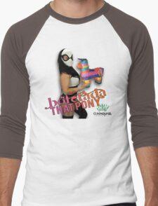 SMACK THAT PONY - Lucha pinjata Men's Baseball ¾ T-Shirt