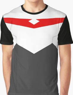 Paladin Armor - Red Graphic T-Shirt