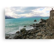 Lake Pukaki view Canvas Print