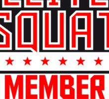 Elite Squad Team Crew Member Soldiers Sticker