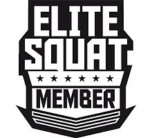 Elite Squad Team Crew Member Soldiers by Style-O-Mat