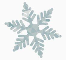 Snowflake One Piece - Long Sleeve