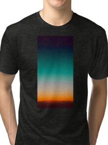 Beautiful Sky twilight Tri-blend T-Shirt