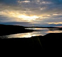 Hebridean Sunset by John Thurgood