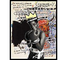 Basquiat (black border) Photographic Print