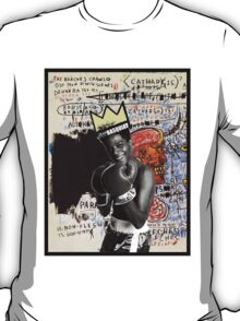 Basquiat (black border) T-Shirt