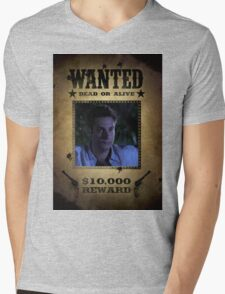 Buffy Warren Wanted Mens V-Neck T-Shirt