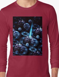 Stand Alone Complex - Abstract Fractal Artwork Long Sleeve T-Shirt