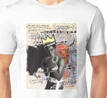 basquiat (white border) Unisex T-Shirt