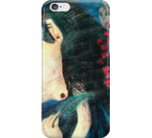 Lady and Aliens iPhone Case/Skin