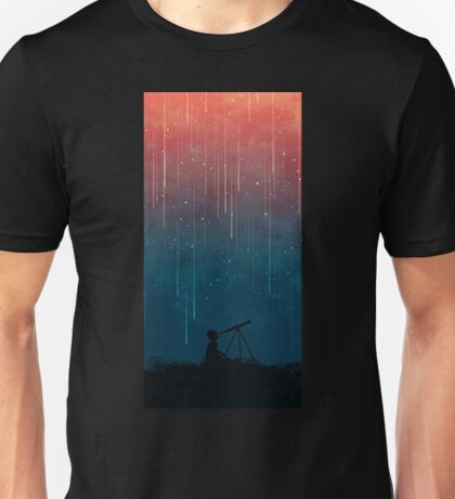 Beautiful Meteor Rain Unisex T-Shirt