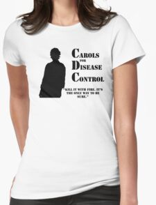 Carols for Disease Control Womens Fitted T-Shirt