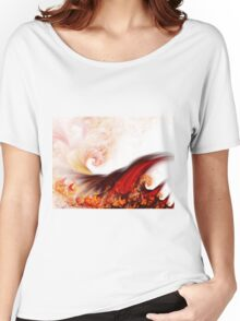Flow - Abstract Fractal Artwork Women's Relaxed Fit T-Shirt
