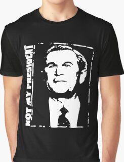 Anti Bush Graphic T-Shirt
