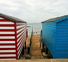 Thorpe Bay - Beach Huts by MidnightMelody