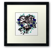 Heart of death Framed Print