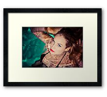 Piper Precious Diamond Eyes No73-5840 Framed Print