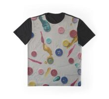 Button to Button ©Cindy Williams Graphic T-Shirt