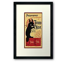 Happy Totoro Studio Ghiibi Framed Print