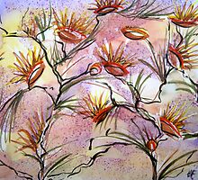 Bush Flowers by Heather Holland by Heatherian