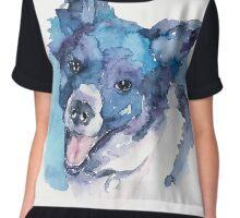DOG#15 Chiffon Top