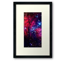 Beautiful Galaxy Nebula Framed Print