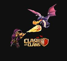 WIZARD VS DRAGON COC Unisex T-Shirt