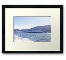 ferry a go! Framed Print