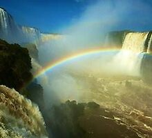 Iguazu Rainbows by JoEveritt