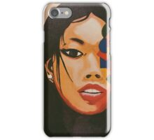 Kristina Anne - two face iPhone Case/Skin